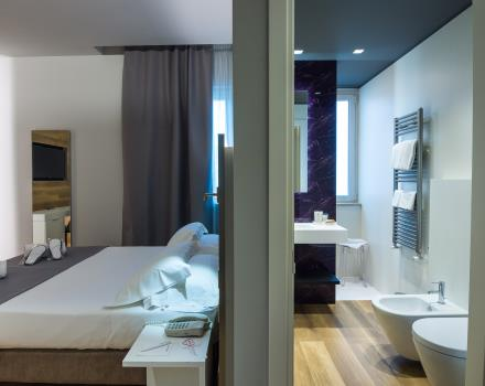 Discover all the comfort of our new rooms! For your stays in Verona, choose Hotel Turismo!