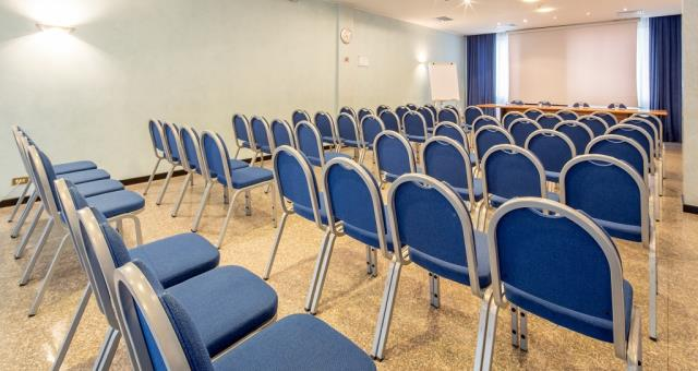 Meeting arranged as theatre style for your meetings at the BW Hotel Turismo